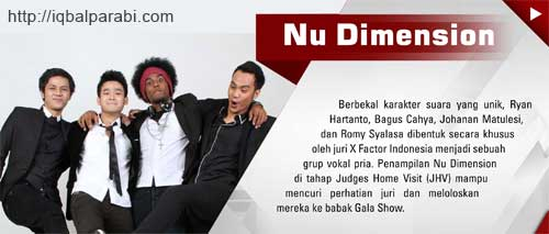NU Dimension X-Factor Indonesia