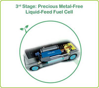 Precious Metal-Free Liquid-Feed Fuel Cell