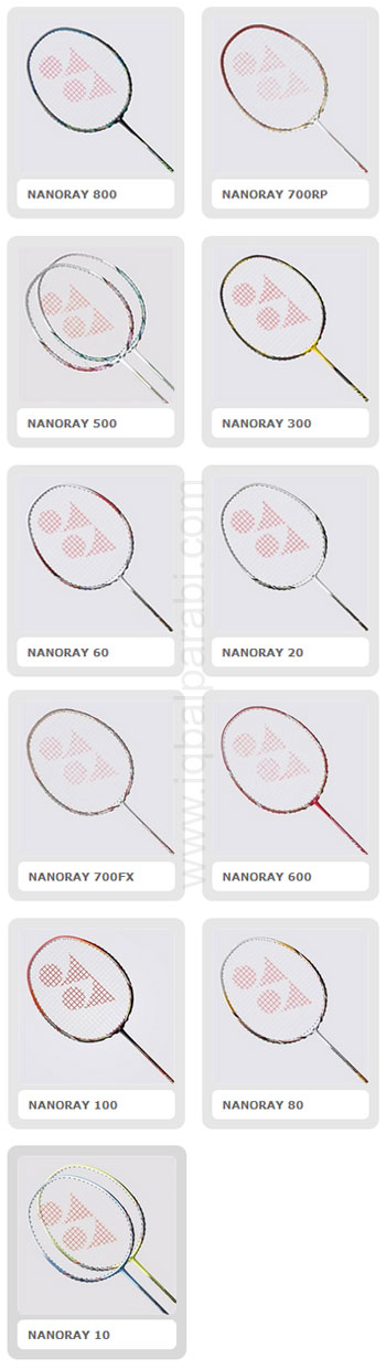 Raket Badminton - NanoRay Series