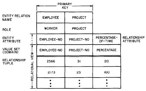 Relationship-relation-PROJECT-WORKER