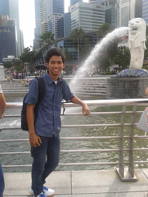 Iqbal Parabi Merlion Park (Failed)